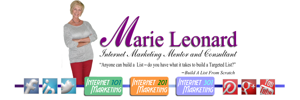 Marie Leonard Mentor and Consultant